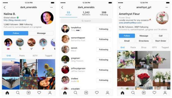 instagram nowy wygląd profili