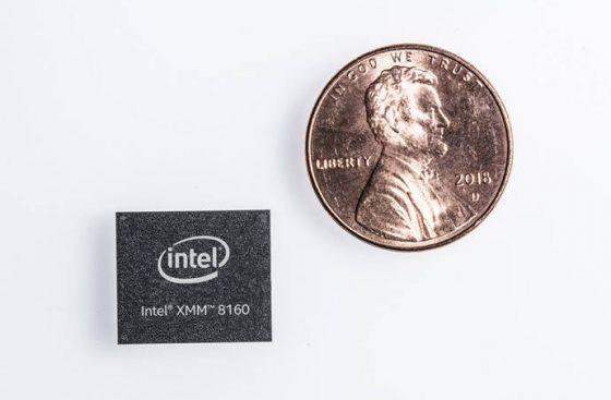 Intel XMM 8160 modem 5G dla Apple iPhone 2019