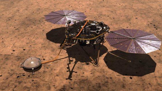 Sonda kosmiczna InSight lądowanie na Marsie NASA kosmos Mars Czerwona planeta gdzie oglądać live stream