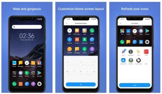 poco launcher najlepsze aplikacje październik 2018 android