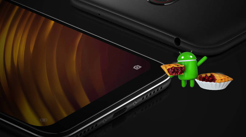 Xiaomi Pocophone F1 Android Pie beta MIUI 10 update when