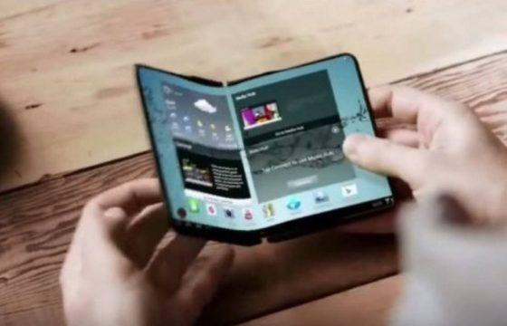 Samsung Galaxy F folding smartphone SM-F900 SM-F900F when the premiere reviews