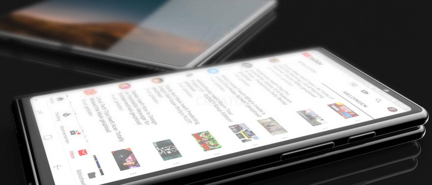 Samsung Galaxy F koncept składany smartfon Samsunga kiedy premiera opinie cena Galaxy S10 DJ Koh Galaxy Fold Unpacked 2019