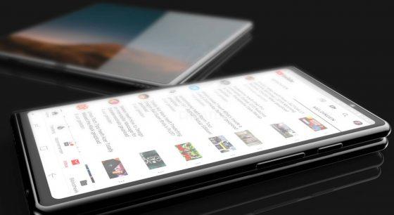 Samsung Galaxy F koncept składany smartfon Samsunga kiedy premiera opinie cena Galaxy S10 DJ Koh