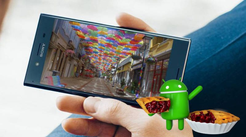 Sony Xperia XZ Premium Xperia XZ1 Compact Android Pie aktualizacja