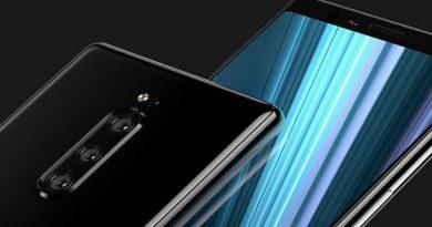 Sony Xperia XZ4 na nowym zdjęciu. Ekran rzeczywiście ma nietypowy