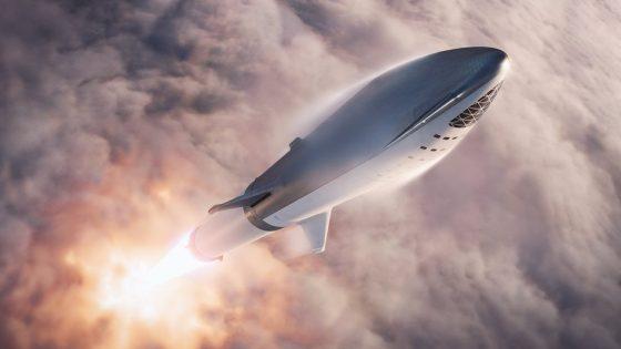 Rakieta nośna SpaceX BFR Falcon 9 Block 5 Elon Musk kosmos Starship Super Heavy