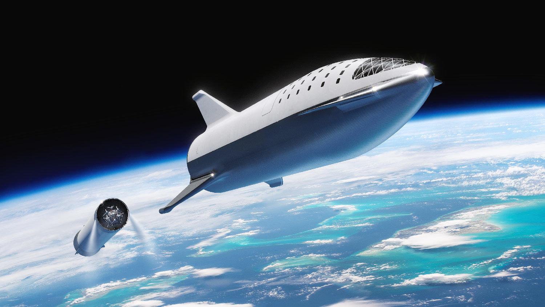 Starship Super Heavy BFR SpaceX elon Musk Big Falcon Rocket rakieta nośna kosmos