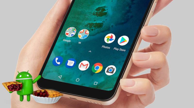 Xiaomi Mi A2 Lite Android 9 Pie Nokia 7.1