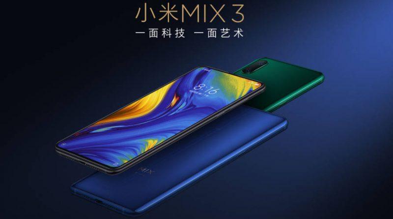 Xiaomi Mi Mix 3 cena gdzie kupić najtaniej w Polsce opinie specyfikacja techniczna Android Pie MIUI 10 Global