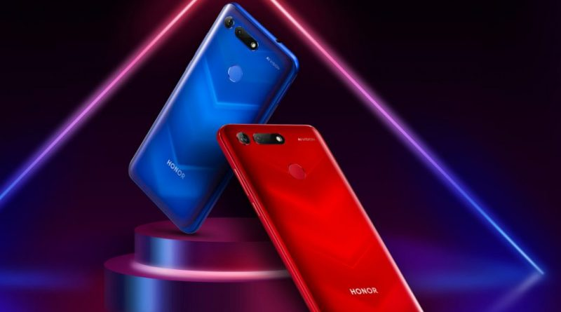 Honor V20 officially. Smartphone with 48 Mpix camera and TOF 3D camera