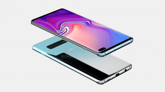 Samsung Galaxy S10 Plus renders Onleaks when the premiere technical specification when you will be able to buy mass production in Poland