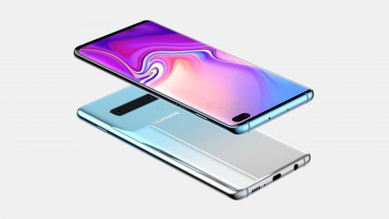 Samsung Galaxy S10 Plus renders Onleaks when the premiere technical specification reviews