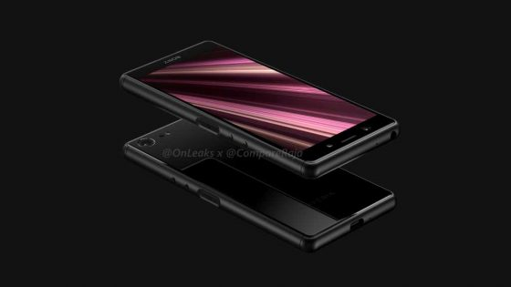 Sony Xperia XZ4 Compact renders Onleaks when the premiere reviews technical specification