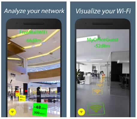 WiFi ARCore najlepsze aplikacje grudnia 2018 android sklep play