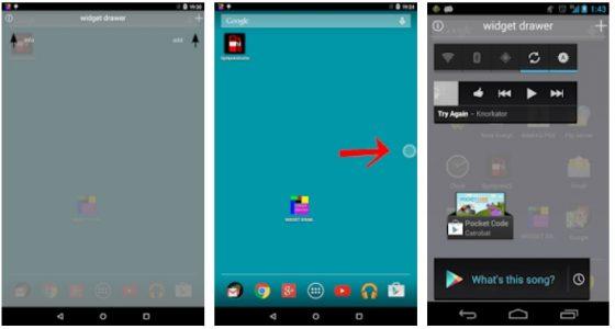 WidgetDrawer najlepsze aplikacje listopad 2018 android