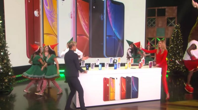 Apple iPhone XR The Ellen Show