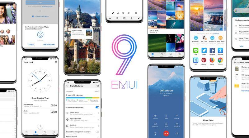 Motyw EMUI 9.0 Huawei Honor