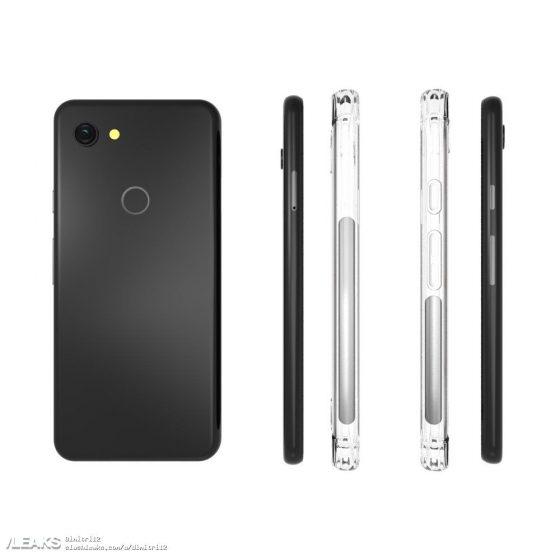 Google Pixel 3 Lite rendery etui kiedy premiera specyfikacja techniczna