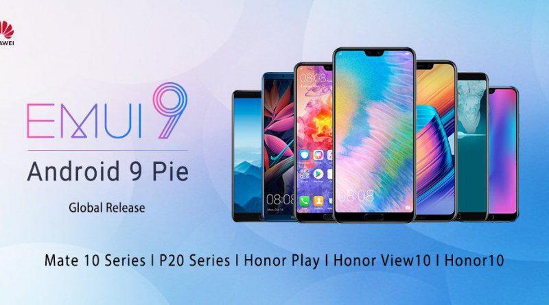 Huawei P20 Pro Mate 10 Pro Honor View 10 Play Android Pie EMUI 9.0 kiedy aktualizacja