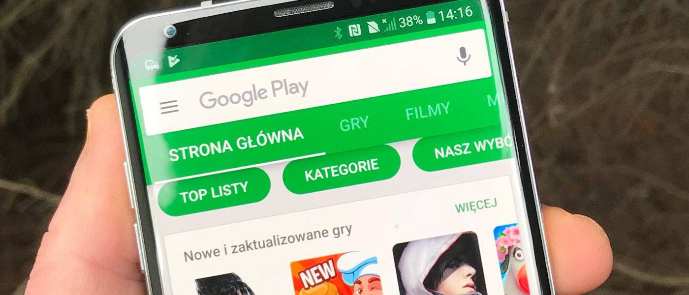 Najlepsze nowe aplikacje Android Google sklep Play listopad 2018
