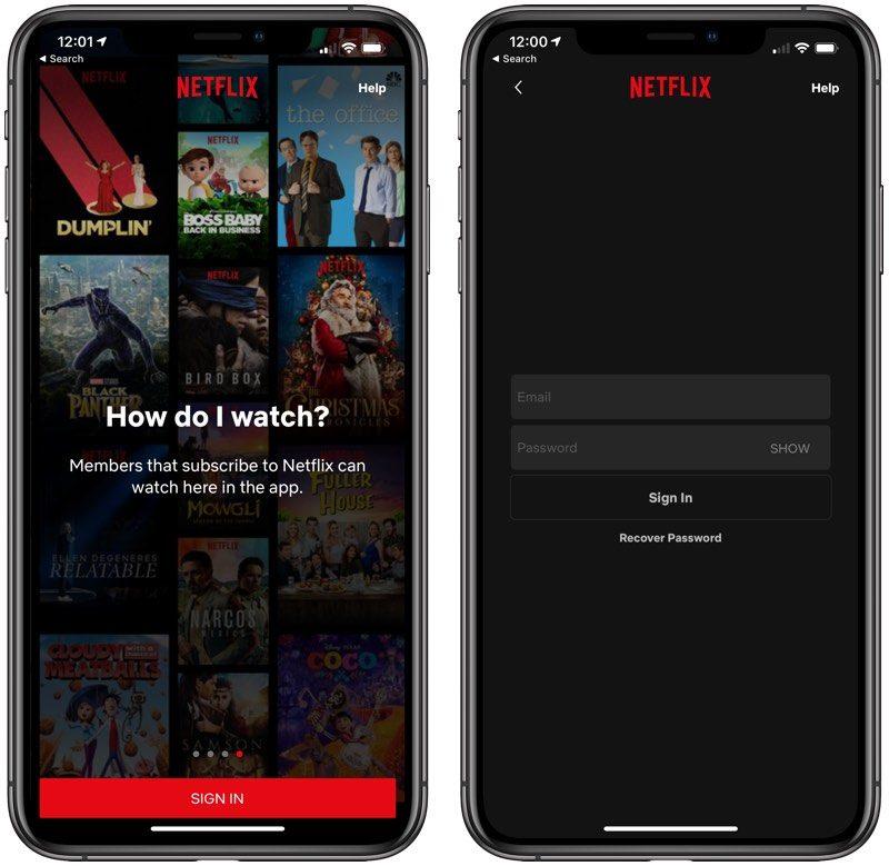 Netflix iTunes Apple subskrypcja