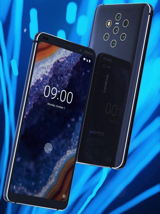 Nokia 9 Pureview Beholder kiedy premiera specyfikacja techniczna render prasowy opinie