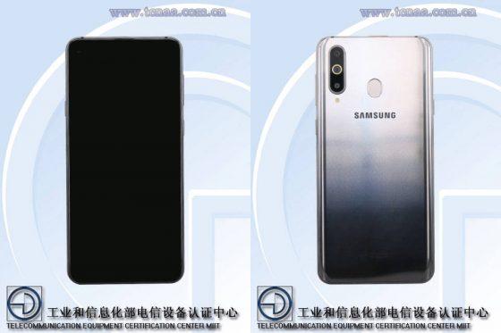 Samsung Galaxy A8s specyfikacja techniczna zdjęcia TENAA gdzie kupić najtaniej w Polsce opinie cena