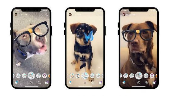 Snapchat filtry dla psów