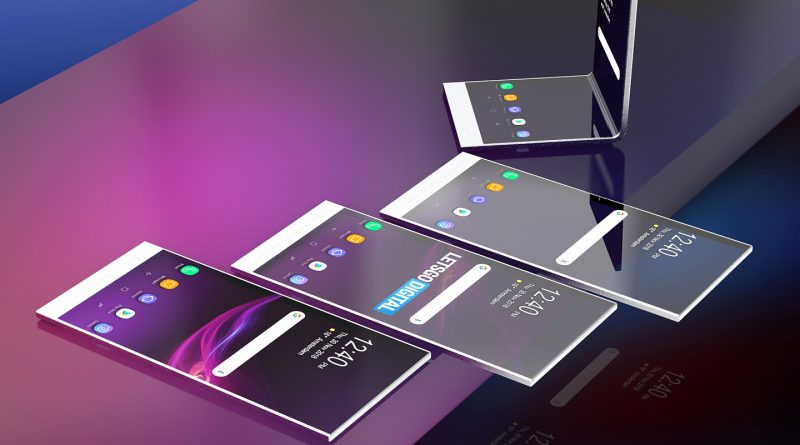 Foldable Sony Xperia smartphone? The company already has a patent for it