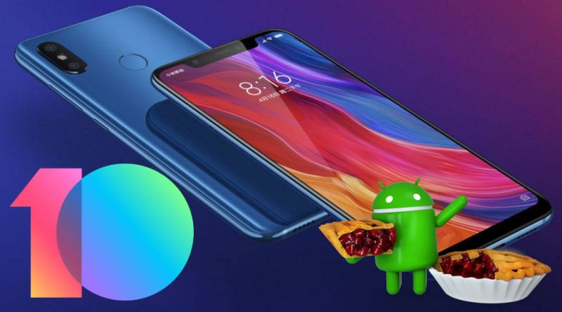 Xiaomi Mi 8 aktualizacja do systemu Android Pie MIUI 10.1.1 Global Stable