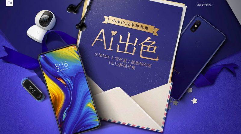 Xiaomi Mi Mix 3 Forbidden City Edition cena premiera gdzie kupić najtaniej w Polsce opinie specyfikacja techniczna