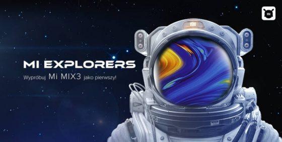 Xiaomi Mi Mix 3 Mi Explorers