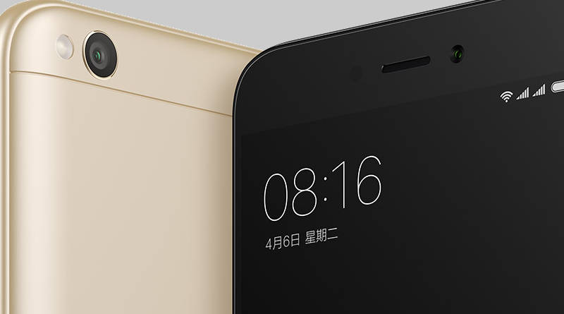 Xiaomi Redmi 5A Android 8.1 Oreo MIUI 10 Global