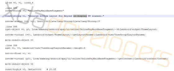 Samsung Galaxy S10 czytnik linii papilarnych na ekranie kiedy premiera Samsung Pay