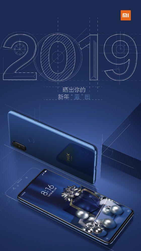 Xiaomi Mi Mix 3 Sapphire Blue specyfikacja techniczna cena opinie gdzie kupić najtaniej w Polsce