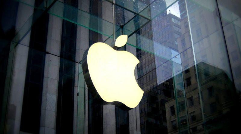 Apple Store logo Tim Cook iPhone list do inwestorów