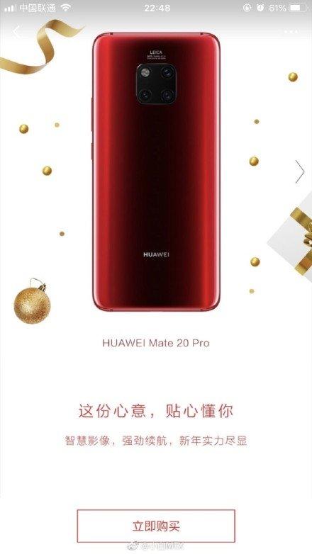 czerwony Huawei Mate 20 Pro gdzie kupić najtaniej w Polsce kiedy premiera specyfikacja techniczna cena opinie