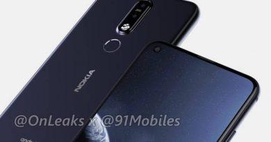 Nokia 8.1 Plus rendery Onleaks kiedy premiera specyfikacja techniczna opinie