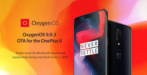 OnePlus 6 OxygenOS 9.0.3 OnePlus 5t 5 OxygenOS 9.0.1 aktualizacja
