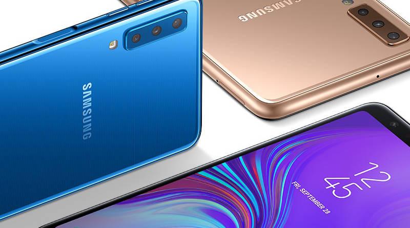 Samsung Galaxy A7 aparat