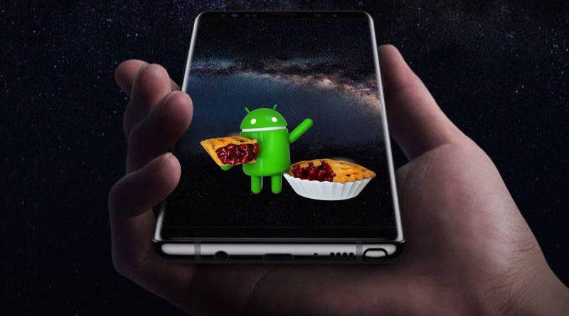 Samsung Galaxy Note 8 Galaxy S9 Android Pie beta One UI jak zainstalować gdzie pobrać