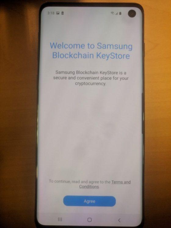 Samsung Galaxy S10 blockchain portfel do kryptowalut kiedy premiera specyfikacja techniczna opinie