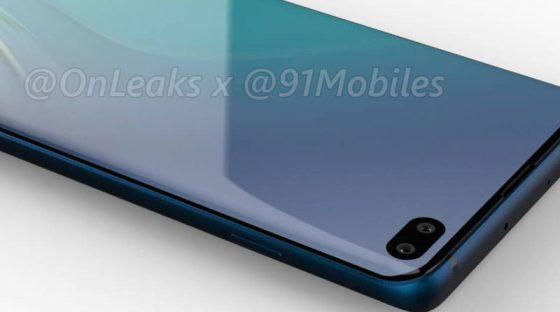 Samsung Galaxy S10 Plus E rendery Evleaks kiedy premiera specyfikacja techniczna
