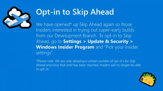 Windows 10 19H2 1909 Skip Ahead kiedy premiera Microsoft