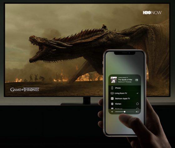 AirPlay 2 iTunes Apple Siri Samsung Smart TV telewizory CES 2019