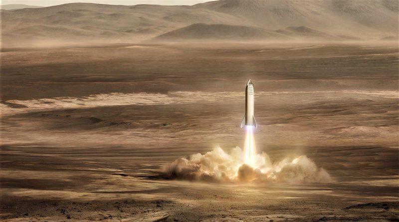 SpaceX Starship BFR rakieta nośna Elon Musk Raptor Super Heavy