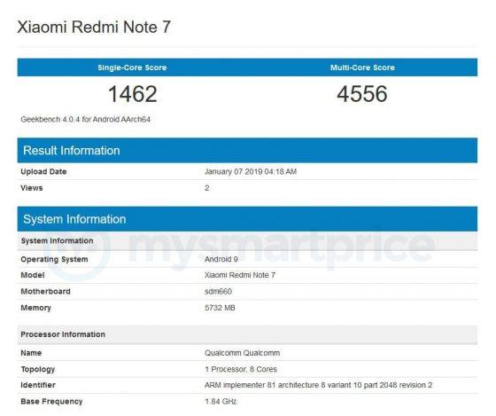 Xiaomi Redmi Note 7 kiedy premiera specyfikacja techniczna opinie