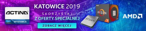 IEM 2019 Intel Extreme Masters promocja na sprzęt Actina Sferis