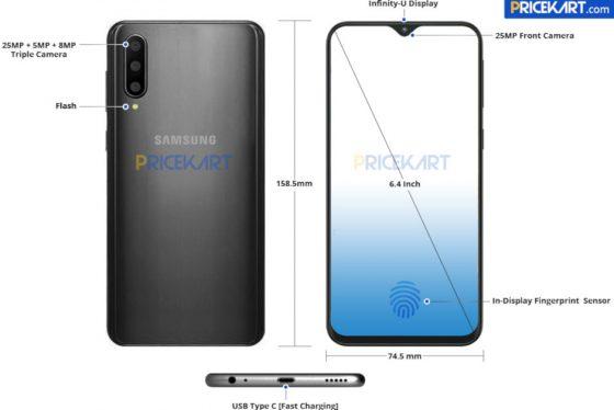 Samsung Galaxy A50 cena specyfikacja techniczna render kiedy premiera opinie gdzie kupić najtaniej w Polsce